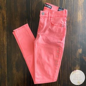 NWT Express Neon Jeggings